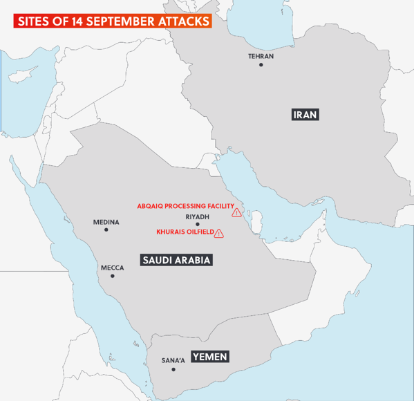 Saudi Arabia Drone Attack SRM