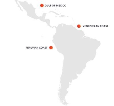 Commercial Shipping Threat Hostpots SRM LATAM