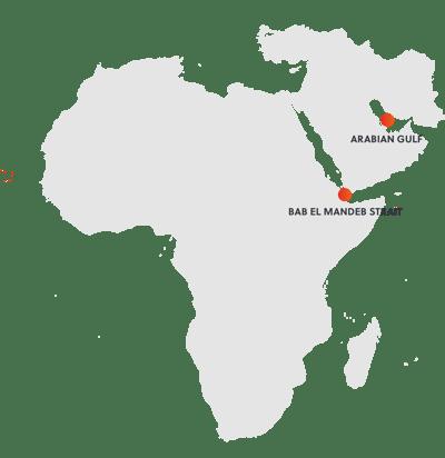 Commercial Shipping Threat Hostpots SRM MENA