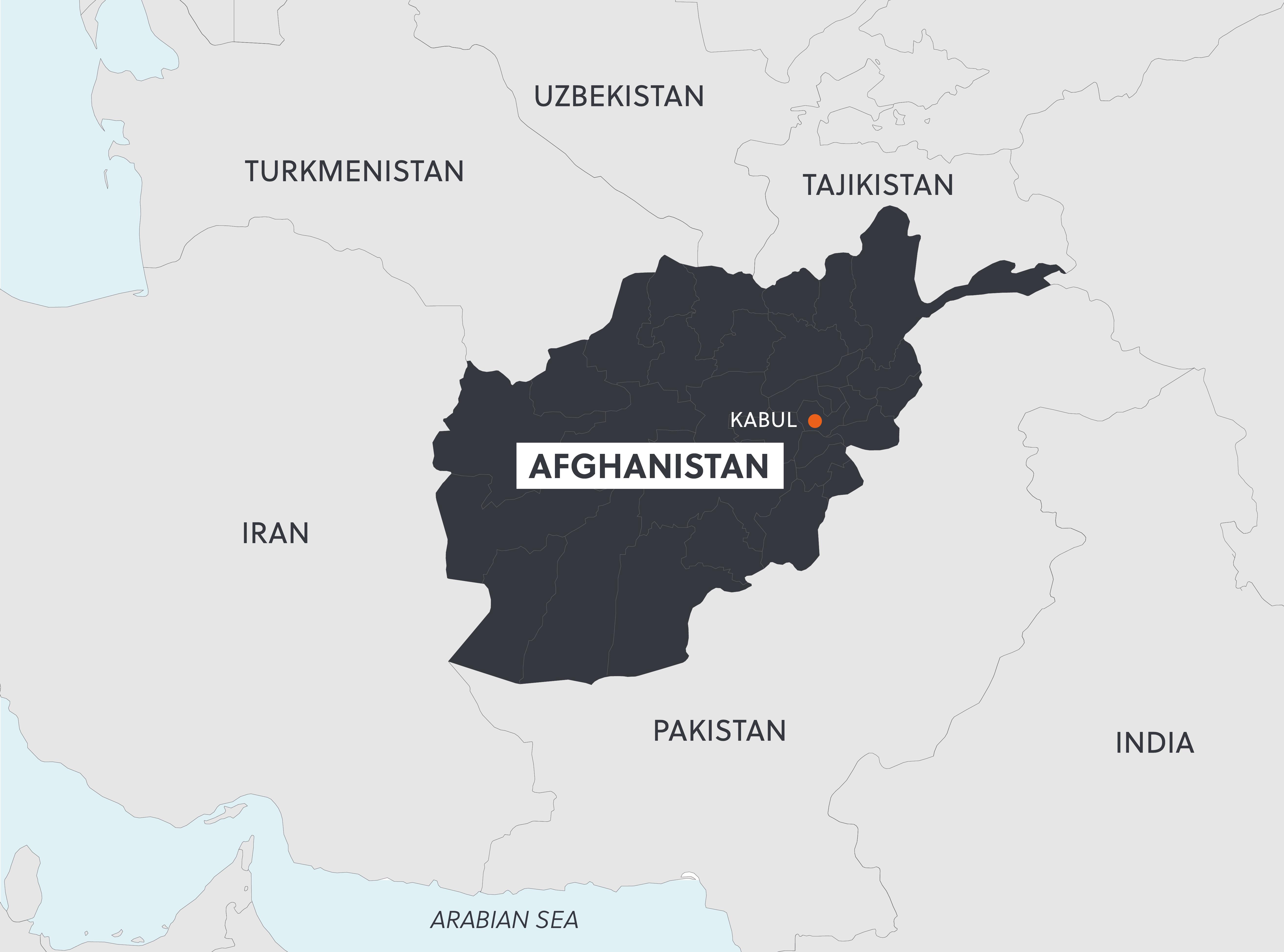 Afghanistan Map-01