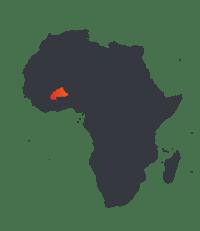 SRM Map Burkina Faso