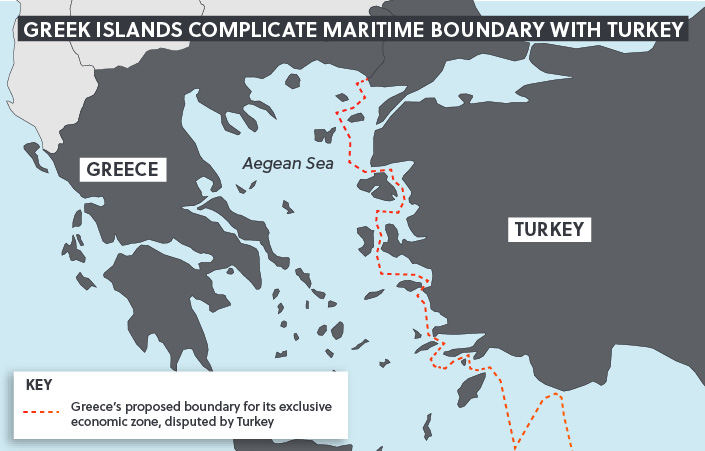Maritime Boundary Turkey